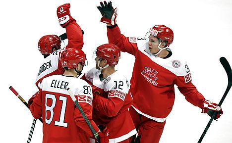 Denmark to hockey final eight for only second time