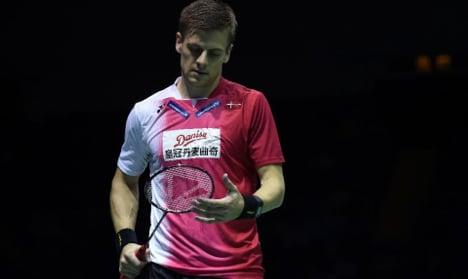 Danish men reach badminton world final