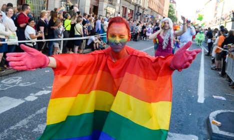 Sweden slides down Europe's 'gay friendly' rankings