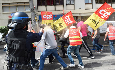 France hit by fresh strikes as nuclear workers join protest
