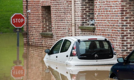 IN PICTURES: Wild weather pummels France