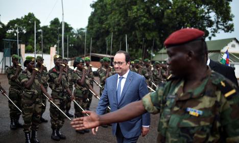 Boko Haram 'still a threat': France's Hollande