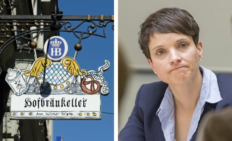 AfD battles to use beer hall that launched Hitler's career