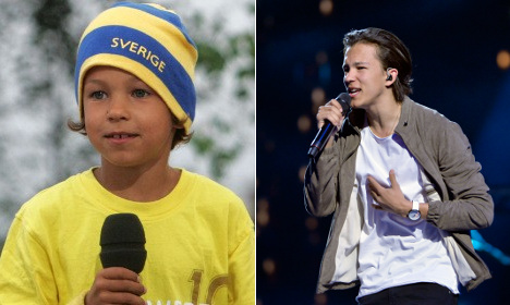 How Zlatan inspired Sweden's young Eurovision star Frans