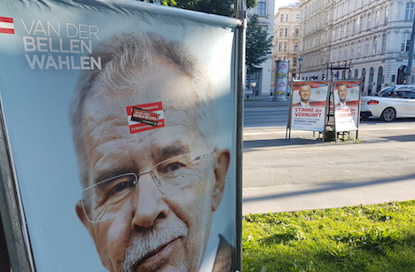 Austrian election too close to call