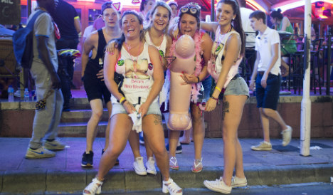 Spanish resort bans blow-up dolls and novelty willies