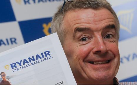 We'll crush German airlines, boasts Ryanair boss