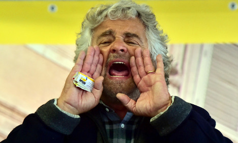 London mayor 'bomb' joke bares crisis in Grillo party