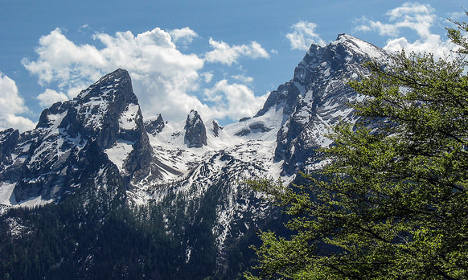 Lidl uses German mountain to promote its Swiss products