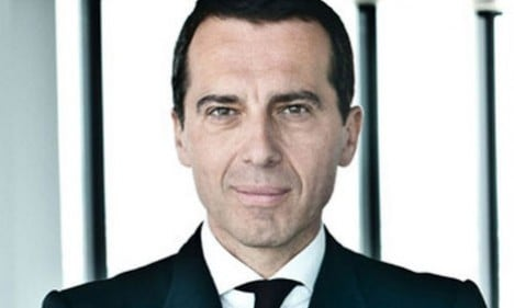 Rail boss Kern chosen as Austria's new chancellor