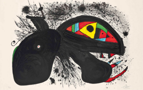 Grandson auctions Joan Miró paintings to help refugees