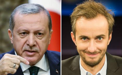 Don't read Erdogan bestiality poem in public: court to comic