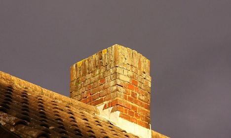 Danish man gets stuck in museum chimney