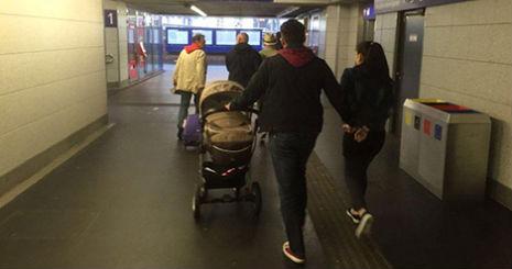 Mum hides 1.5kg of cocaine under baby