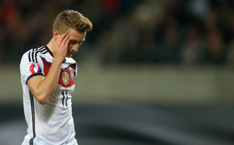 Star winger axed from Germany Euros squad