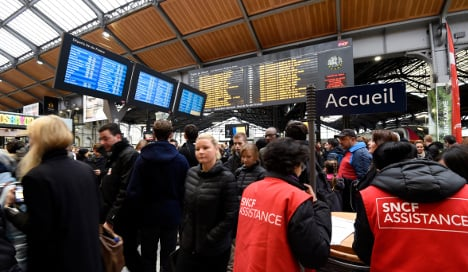 Off the rails! France hit by nationwide train strikes