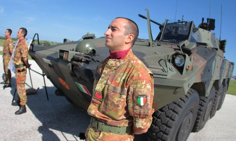 Italy will not send troops to Libya to protect UN structures