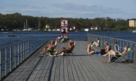 Last chance (for now) to sweat in Swedish sun