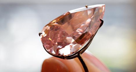 Pink diamond sold for record-breaking $31m in Geneva