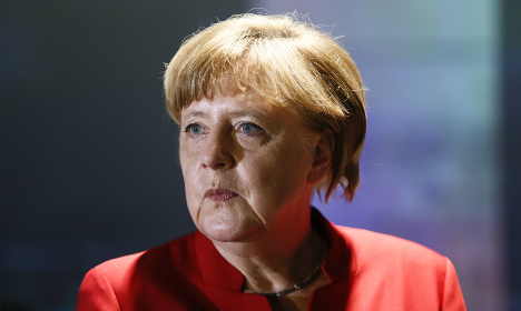 Pig's head found outside Merkel's constituency office
