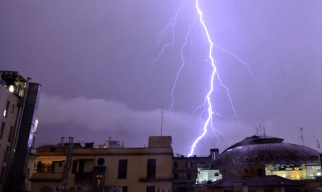 Storms lash Italy as cyclone Poppea strikes