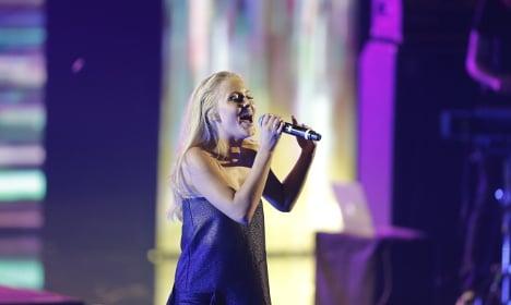 Swedish star Zara Larsson sings summer football hit