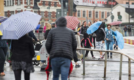 Cold spring chills Swedish fashion sales