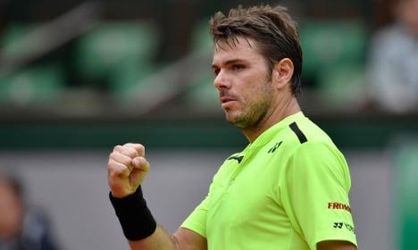 Swiss Wawrinka advances to the French Open last-eight