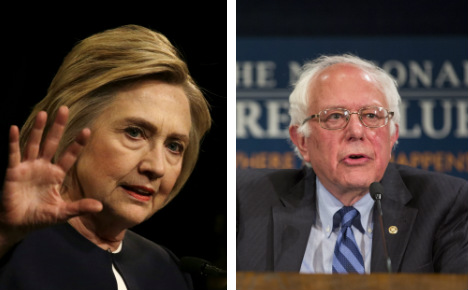 Clinton, Sanders camps trade blows at global convention