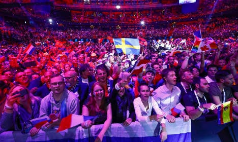 BLOG: Stockholm glitters for Eurovision Song Contest