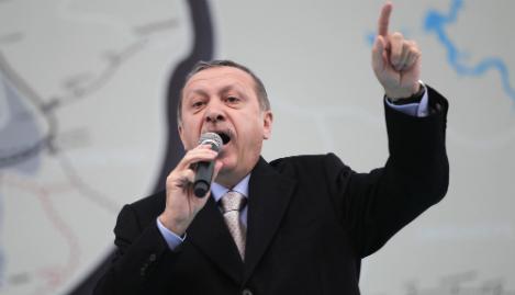 Erdogan takes 'indignation' out on German diplomat
