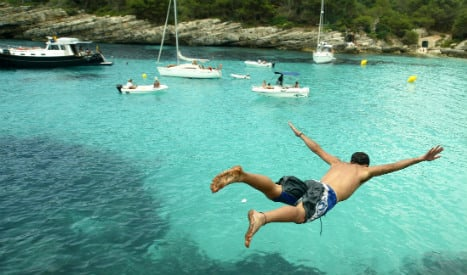 Spain has 58 bathing spots that don't meet EU standards