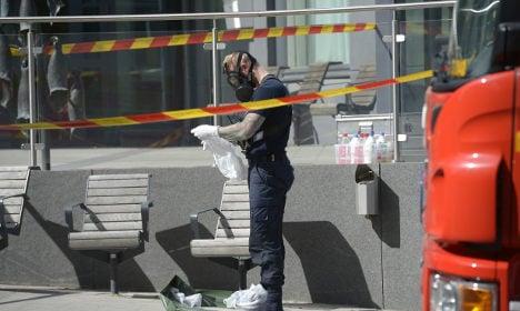 Evacuation after chemical leak at Stockholm lab