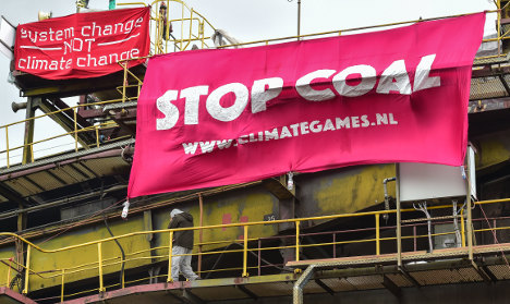 German police arrest 120 in anti-coal demonstrations