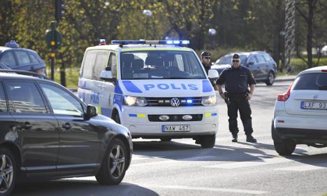 Swedish police shoot armed man in Malmö