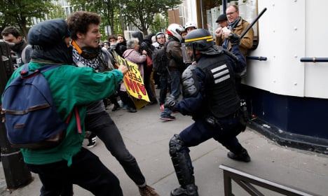 French PM urges 'harsh' penalties for anti-cop violence
