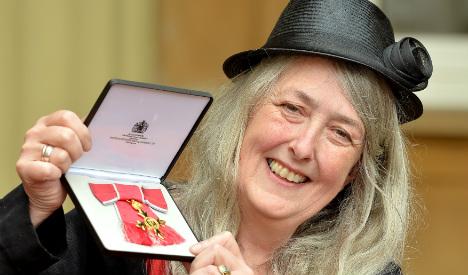 Brit historian Mary Beard wins prestigious Spanish award