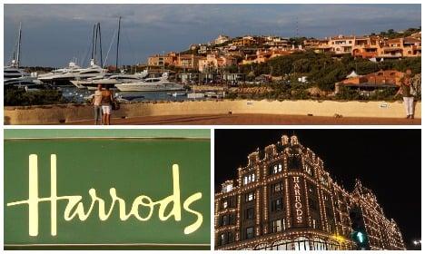 Plush Sardinian resort serves Harrods with eviction notice