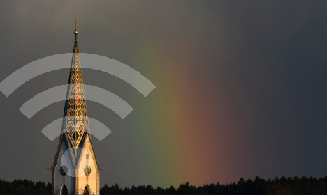 Church tower Wi-Fi 'Godspots' to bring word from on high