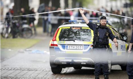 Man shot and injured in central Gothenburg