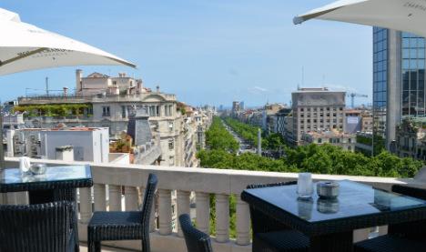 Top Ten: Barcelona's coolest rooftop bars