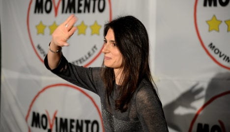 Anti-establishment candidate leads Rome mayoral race
