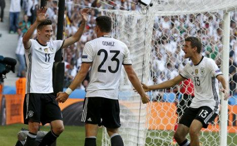 Man Utd target blasts Germany to win over Slovakia