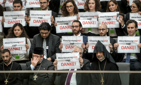 Turkey recalls Berlin envoy after Armenia genocide vote