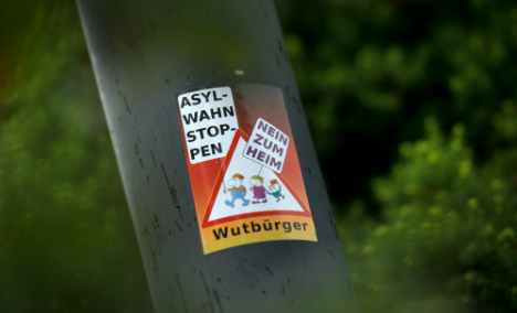 Vigilante group beat mentally-ill refugee and tie him to tree