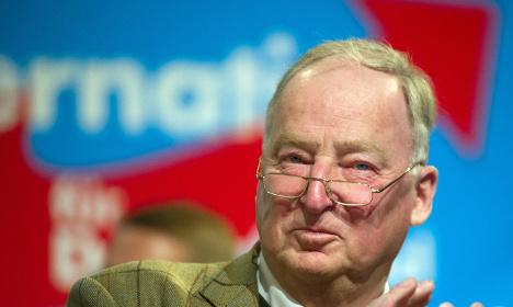 German right-wing leader blasts 'dictator' Merkel