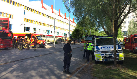 Suspicious white powder found at Swedish mail centre