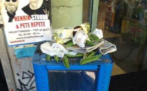 Stop trashing your city, Copenhagen residents!