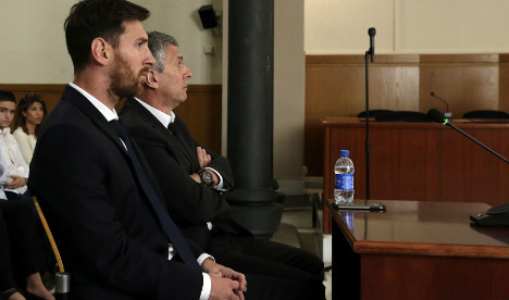 'I trusted my Dad': Messi tells court in €4m tax fraud trial