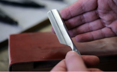The German smithies forging cut-throat razors for the world